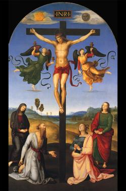 Crucified Christ by Raphael