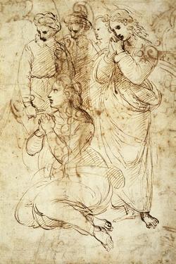 Deposition, Preparatory Study by Raphael
