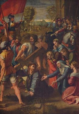 'El Pasmo de Sicilia', (Christ Falling on the Way to Calvary), c1515, (c1934) by Raphael