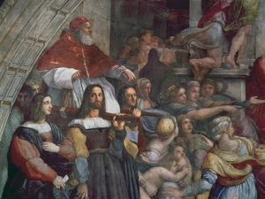 Expulsion of Heliodorus from the Temple by Raphael