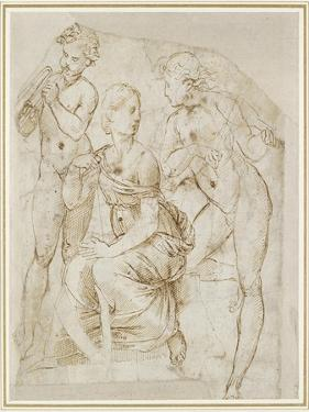 Group of Musicians by Raphael