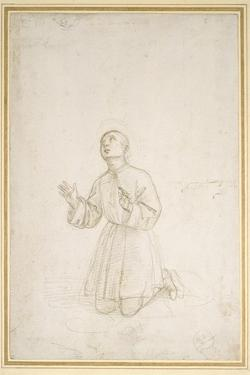 Kneeling Figure of a Youth, C.1503 by Raphael