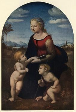 'La Belle Jardinière', 1507, (c1912) by Raphael