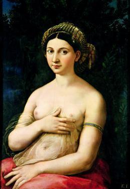 La Fornarina, circa 1516 by Raphael