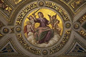 Lady Justice by Raphael