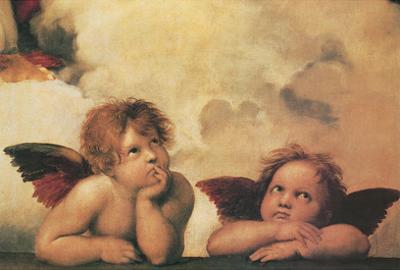 Raphael (Little Angels) Art Poster Print