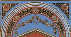 Loggia in the Vatican II (detail) by Raphael