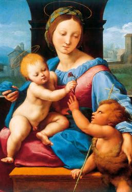 Raphael Madonna Aldobrandini Art Print Poster
