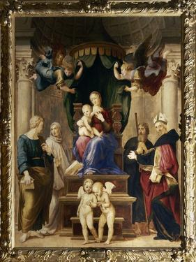 Madonna Del Baldacchino, c.1507 by Raphael