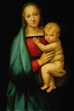"Madonna ""del Granduca"" - the Madonna of the Grandduke. Painted 1506 by Raphael"