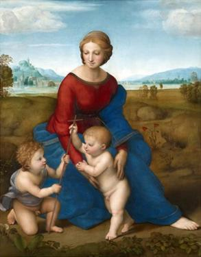 Madonna in the Meadow by Raphael by Raphael