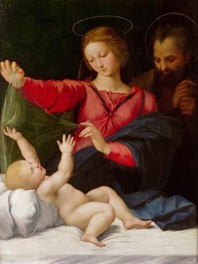 Madonna of Loreto, C.1508 by Raphael