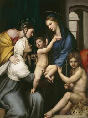 Madonna of the Cloth, c.1514 by Raphael