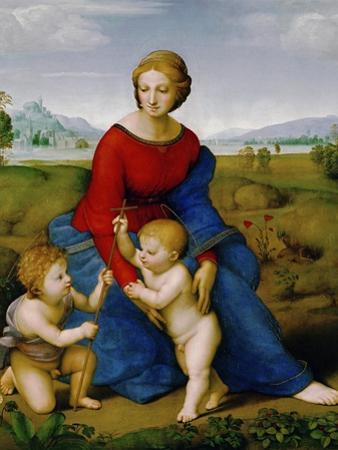 Madonna on the Meadow, 1505 or 1506 by Raphael