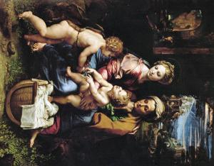Madonna with a Fish, Around 1513 by Raphael