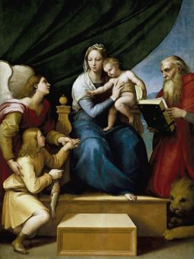 Madonna with the Fish by Raphael