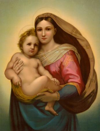 Madonna by Raphael