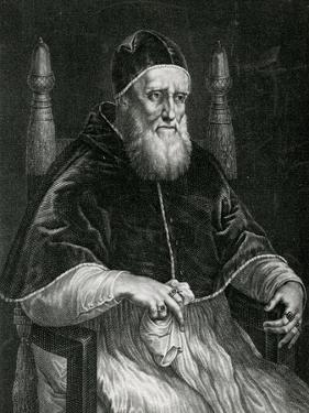 Pope Julius II (1443-1513) by Raphael