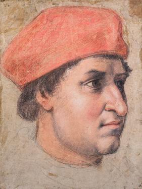 Portrait of a Cardinal, C.1513-20 by Raphael
