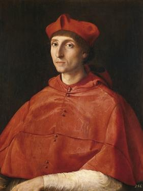 Portrait of a Cardinal by Raphael