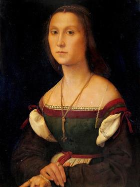Portrait of a Woman (La Muta) by Raphael