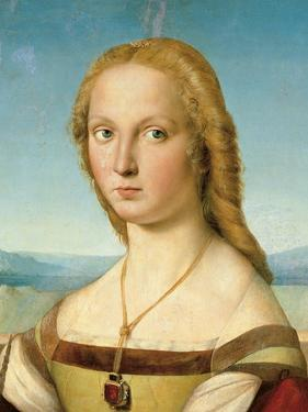 Portrait of a Young Woman (Lady with a Unicorn) by Raphael