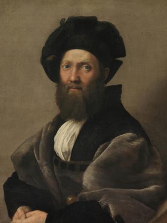 Portrait of Baldassare Castiglione, Ca 1515 by Raphael