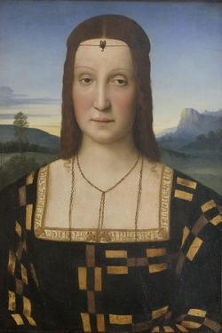 Portrait of Elisabetta Gonzaga (1471-152) by Raphael