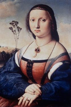 Portrait of Maddalena Doni, 1506 by Raphael