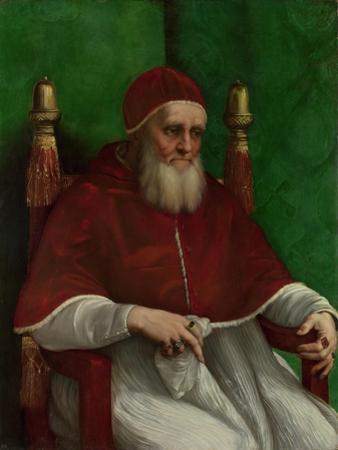 Portrait of Pope Julius II, 1511 by Raphael
