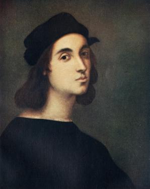 'Portrait of Raphael', c1505, (c1912) by Raphael