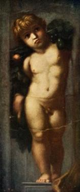 'Putto with Garland', c1510, (c1912) by Raphael