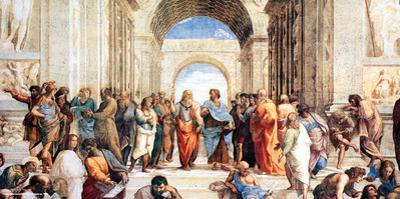 Raphael- School Of Athens by Raphael