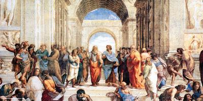 Raphael- School Of Athens by Raphael
