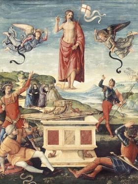Resurrection of Christ by Raphael