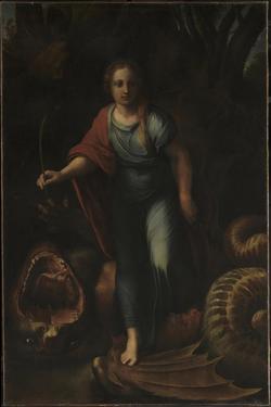 Saint Margaret, Ca 1518 by Raphael