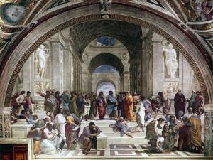 School of Athens, C1510 by Raphael