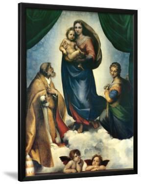 Sistine Madonna, c.1513-1514 by Raphael