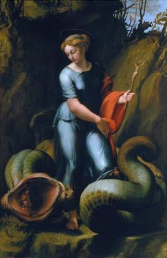 St. Margaret, about 1518 by Raphael