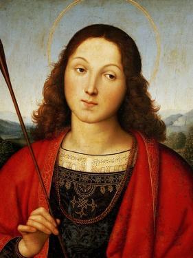 St Sebastian, Circa 1501-1502 by Raphael