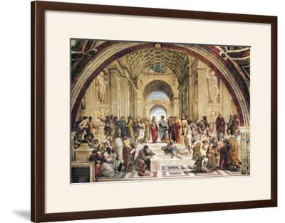 Stanza Della Segnatura: the School of Athens by Raphael