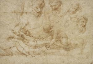 Studies for a Deposition by Raphael