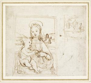 Study for a Picture of the Virgin and Child by Raphael