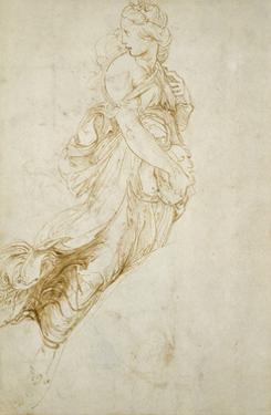 Study for the Figure of Melpomene by Raphael