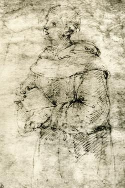 Study of a Monk, 1913 by Raphael