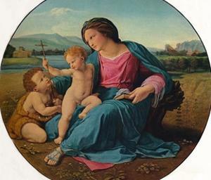 'The Alba Madonna', 1510 by Raphael