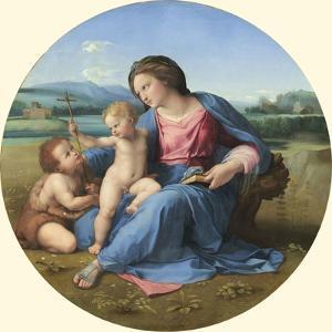 The Alba Madonna, C. 1510 by Raphael