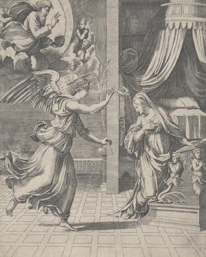 The Annunciation by Raphael