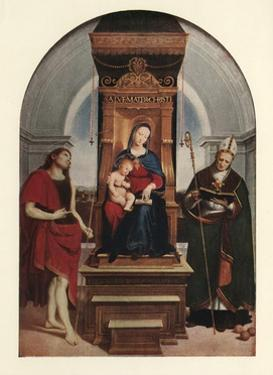 'The Ansidei Madonna', 1505, (c1912) by Raphael