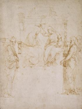 The Coronation of the Virgin by Raphael